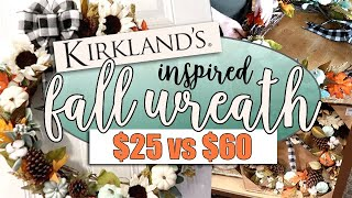 DIY FALL WREATH || KIRKLANDS INSPIRED || FALL 2018