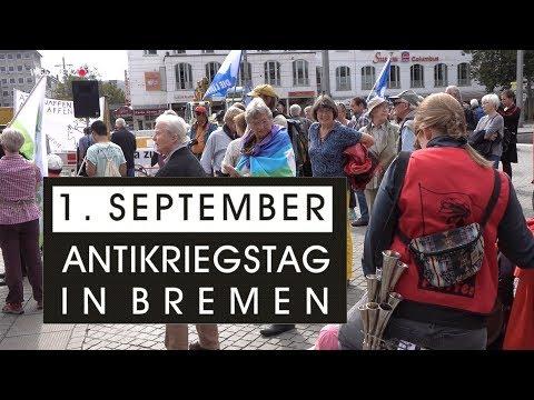 Antikriegstag in Bremen am 1  September 2017
