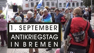 Antikriegstag in Bremen am 1  September 2017