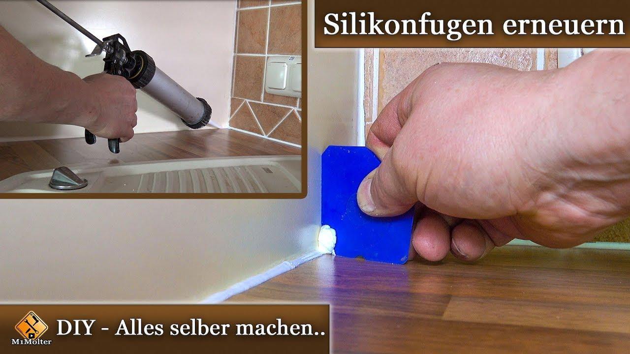 Silikonfugen Erneuern / Anleitung & Tipps - Auch Für Anfänger Und