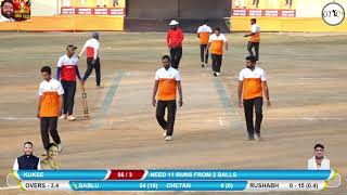 BABLU PATIL CHASE  26 RUNS IN 6 BALL AT PALAKMANTRI CHASHAK 2019, BALYANI (DAY 1)