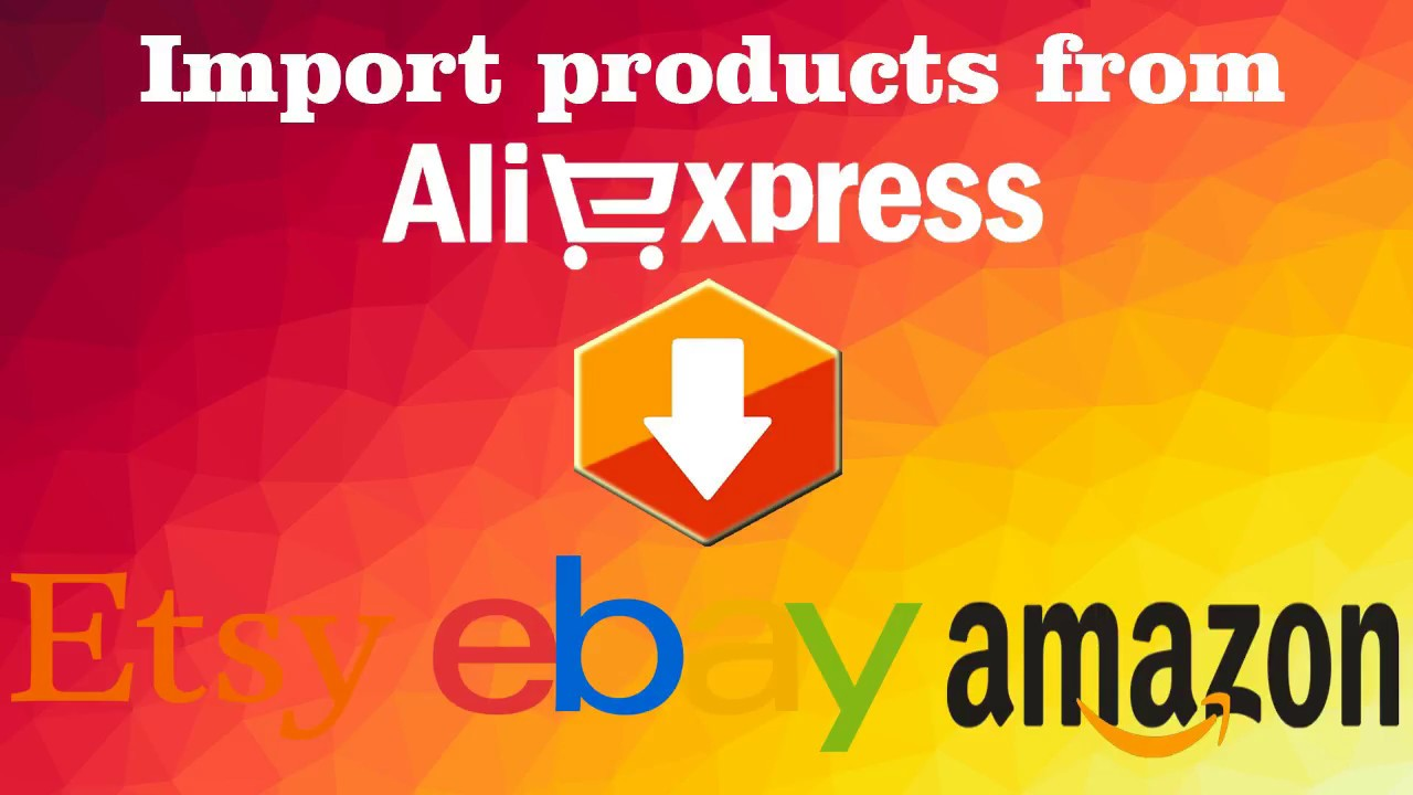 Dropshipping - Aliexpress to ebay , amazon , etsy fast listing tool