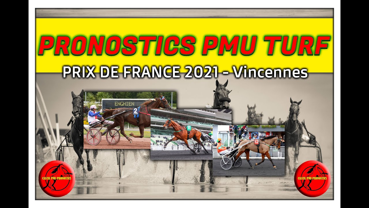 PRIX DE FRANCE 2021 Dimanche 14 Février Les Partants - YouTube