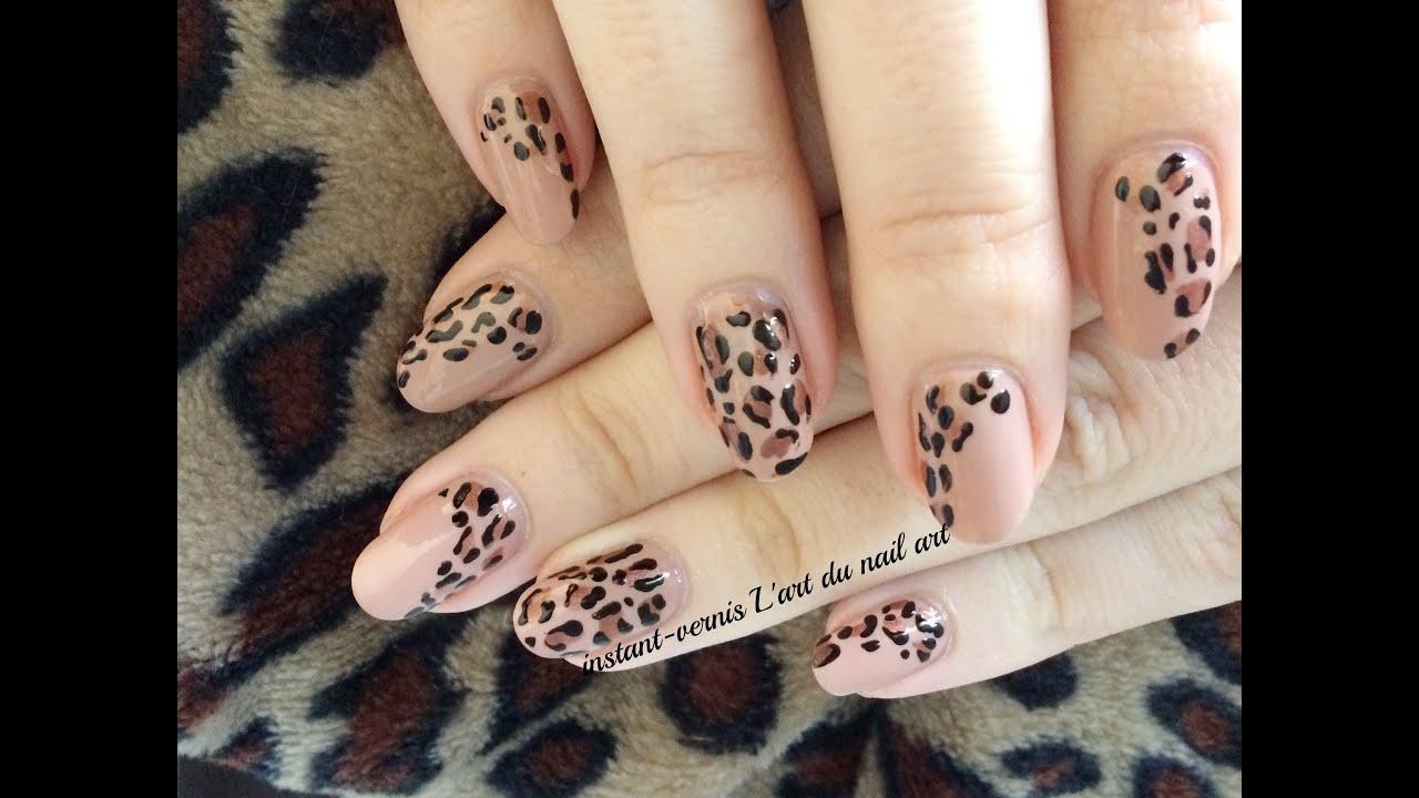 Tuto nail art l opard tr s facile pour d butant youtube - Tuto nail art debutant ...