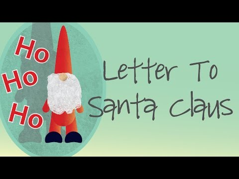 Letter To Santa Claus (Father Christmas) | Poem