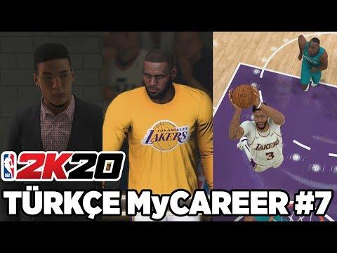 Türkçe NBA 2K20 MyCAREER #7 | SONUNDA NBA'DE MAÇA ÇIKTIM! AD'DEN MÜTHİŞ