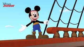Captain Mickey Song | Mickey's Pirate Adventure | Official Disney Junior UK HD