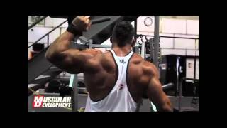 Muscular Development Shoulder Training with Ryan Watson part 1