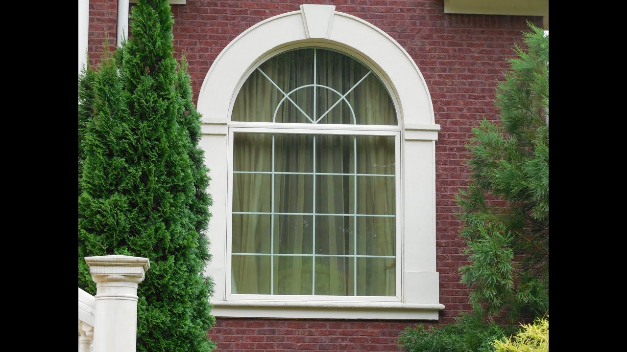 front window design of house