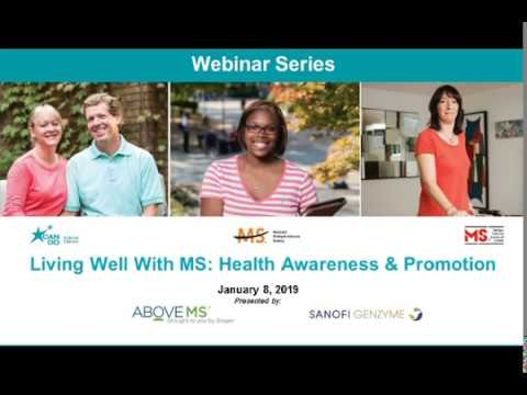 Living Well With  MS: Health Awareness & Promotion