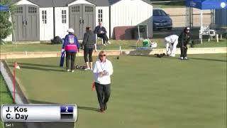 2017 Outdoor Singles - Day (AB) vs Kos (SK)