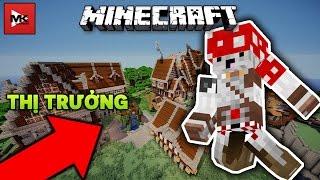 Trở Thành Thị Trưởng Tiếp Nhận Thử Thách - Minecraft MK Thử Thách [1] | MK Gaming