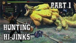 Monster Hunter 3 Ultimate: Hunting Hi-Jinks Part 1