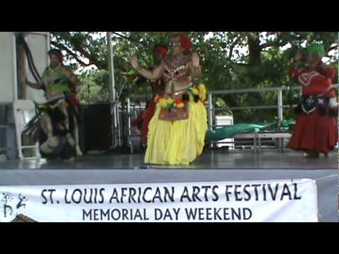 NORTH AFRICAN BELLY DANCE AT ST.LOUIS AFRICAN ART FEST 2011