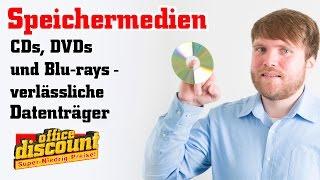 Speichermedien: CDs, DVDs und Blu-rays wo liegt der Unterschied?