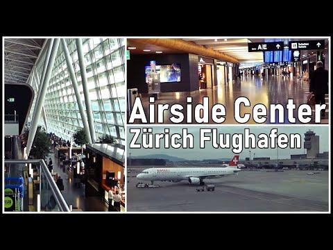 Zürich Flughafen, das Airside Center - LSZH, ZRH, Schweiz 2016