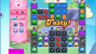 Candy Crush Saga Level 2792 16 moves NO BOOSTERS Cookie