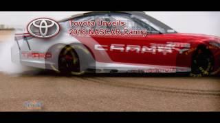 Toyota Reveals NASCAR Camry at 2017 Detroit Auto Show