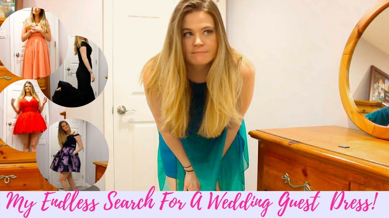 Wedding Guest Dress Shopping