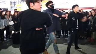 JHKTV] 신촌댄스sin chon busking  DOB  dance  monster