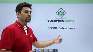 COBOL - Subrutines