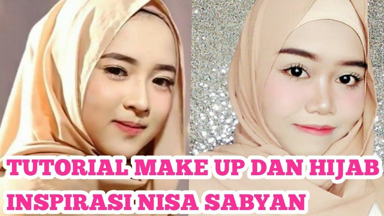 Tutorial Make Up dan Hijab Inspirasi Nissa Sabyan  Maya EMS  YouTube