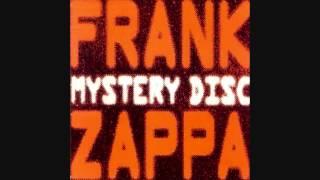 "Frank Zappa ""Agency Man"" (Studio Version)"