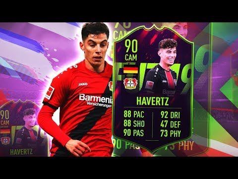 FUTURE STAR HAVERTZ 90! IS THIS CARD WORTH OVER HALF A MILLION? FIFA 19 ULTIMATE TEAM