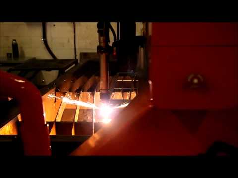 JL Metals Plasma Cutting Demonstration 1
