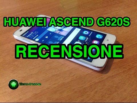 Huawei Ascend G620S - recensione in italiano