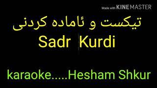 karaoke kurdi....Hesham Shkurکاریوکی کوردی رزگار هه ولیری