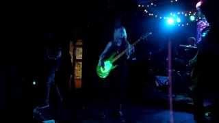 6/21/13; Throttlebomb sings Escape From New York @ 3 Kings Tavern in Denver, CO