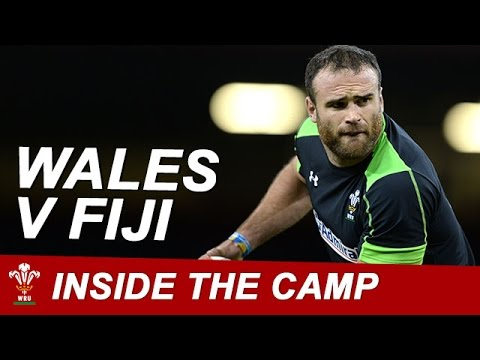 Inside the Welsh camp as they prepare for Fiji | WRU TV