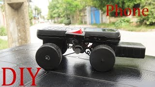 How To Make a Car Using NOKIA Phone See & Do Model car