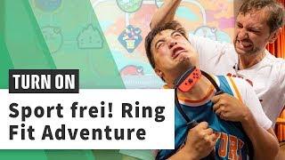 Ring Fit Adventure ausprobiert: Das neue Nintendo-Spiel im Schwitz-Test