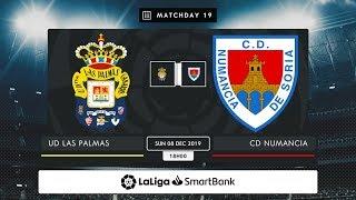 UD Las Palmas - CD Numancia MD19 D1800
