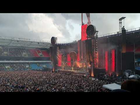 Rammstein - Tattoo (Live Ullevaal Stadion, Oslo, Norway - August 18, 2019) HD