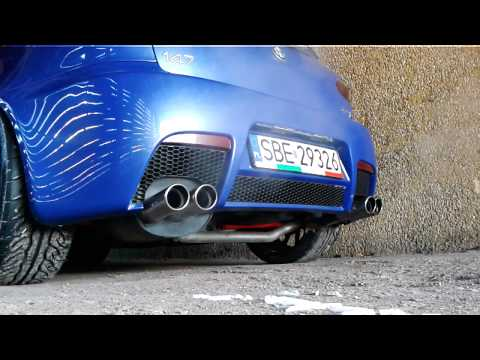 Alfa Romeo 147GTA Matejko exhaust sound