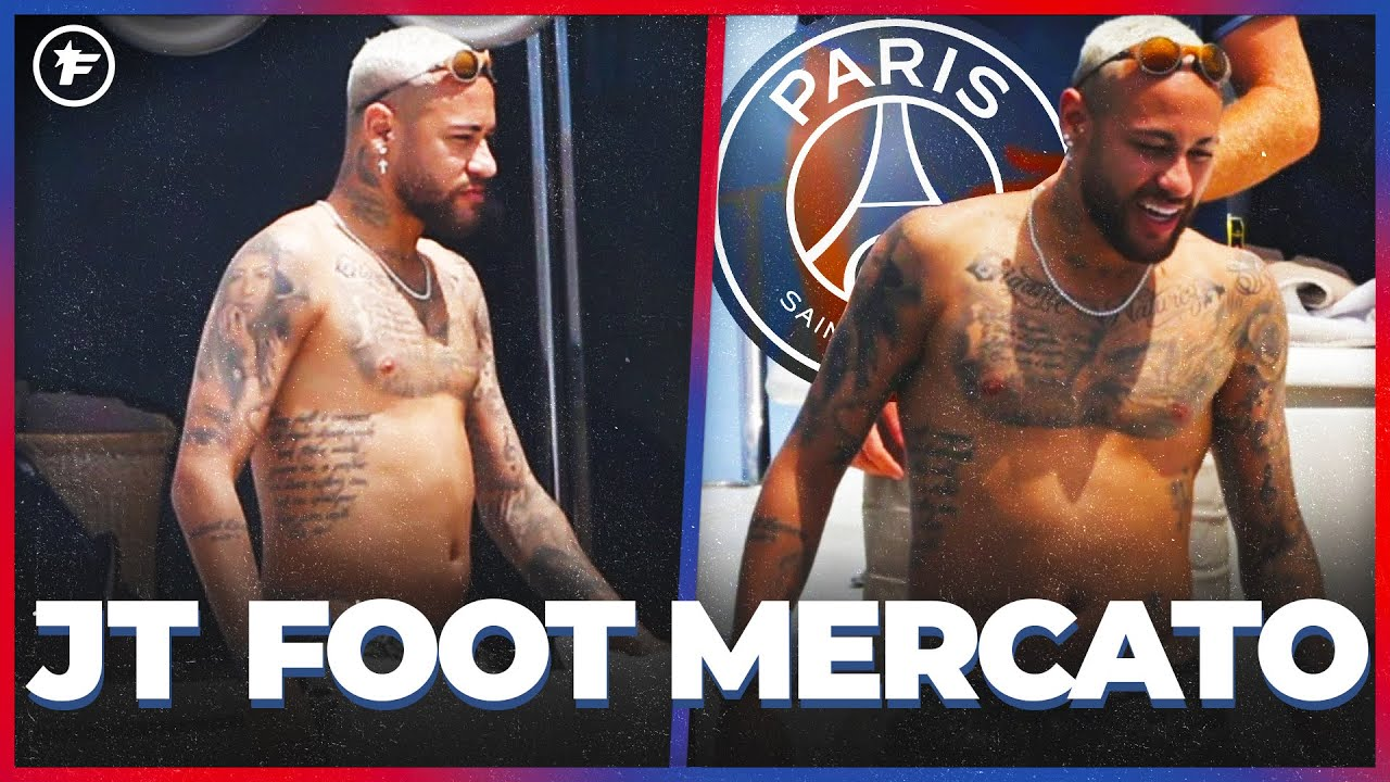 Neymar fait polémique pendant ses vacances | JT Foot Mercato