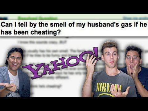 The Funniest Yahoo Questions