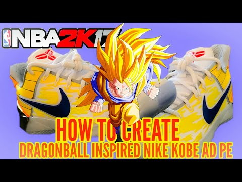 Dragonball Z Kobe AD  Nba2k17 - YouTube 1e9dc832e