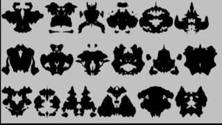 The Rorschach inkblot psychological test