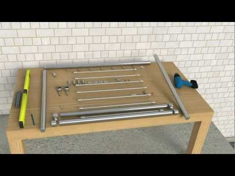 edelstahl gel nder steck system doovi. Black Bedroom Furniture Sets. Home Design Ideas