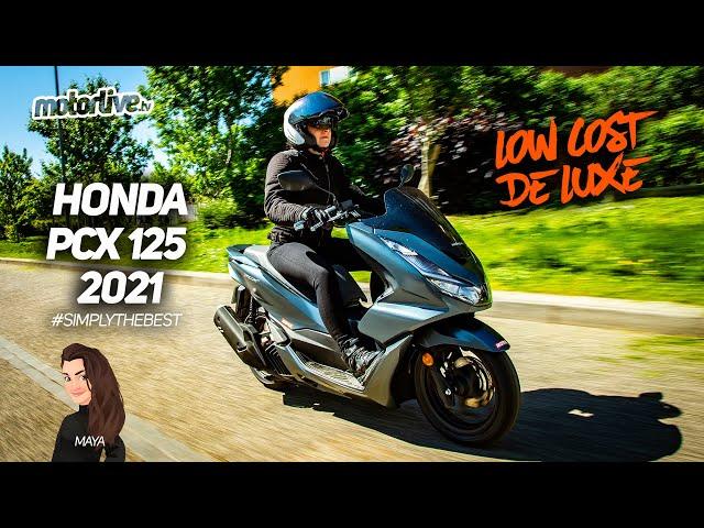 HONDA PCX 125 2021   TEST MOTORLIVE