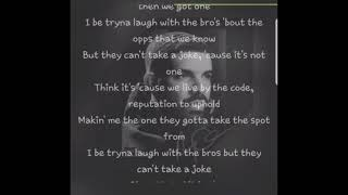 Drake - Cant Take A Joke (Official Audio) With Lyrics