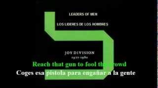 JOY DIVISION-LEADERS OF MEN (LOS LIDERES DE LOS HOMBRES) - (Subtitulado Ingles - Español