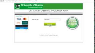 How To Register UNN Post UTME 2017