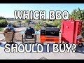 Which is the best BBQ Grill or Smoker to Choose and Buy - Charcoal, Briquettes, Wood, Barbecues   4k