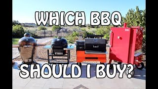 Which is the best BBQ Grill or Smoker to Choose and Buy - Charcoal, Briquettes, Wood, Barbecues | 4k