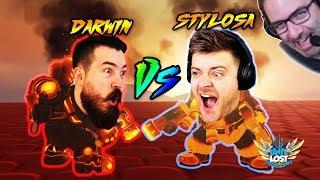 OverFighter! Overwatch Fighting Game! Darwin Vs Stylosa!